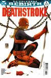 Cover for Deathstroke (DC, 2016 series) #3 [Shane Davis / Michelle Delecki Cover]