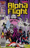 Cover Thumbnail for Alpha Flight (1983 series) #33 [Newsstand]