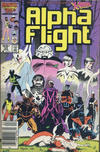 Cover Thumbnail for Alpha Flight (1983 series) #33 [Canadian Newsstand Edition]