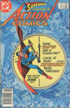 Cover for Action Comics (DC, 1938 series) #551 [Canadian]
