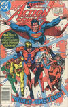 Cover for Action Comics (DC, 1938 series) #553 [Canadian]