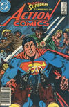 Cover for Action Comics (DC, 1938 series) #557 [Canadian Newsstand Edition]