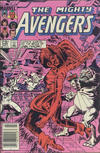 Cover Thumbnail for The Avengers (1963 series) #245 [Canadian Newsstand Edition]