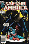 Cover for Captain America (Marvel, 1968 series) #296 [Canadian]