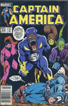 Cover for Captain America (Marvel, 1968 series) #315 [Canadian Newsstand Edition]
