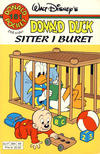 Cover Thumbnail for Donald Pocket (1968 series) #151 - Donald Duck sitter i buret [Reutsendelse]