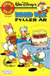 Cover Thumbnail for Donald Pocket (1968 series) #154 - Donald Duck fyller år [1. opplag]