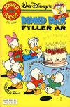 Cover Thumbnail for Donald Pocket (1968 series) #154 - Donald Duck fyller år [Reutsendelse]
