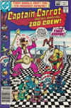 Cover for Captain Carrot and His Amazing Zoo Crew! (DC, 1982 series) #8 [Newsstand Edition]