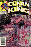 Cover Thumbnail for Conan the King (1984 series) #20 [Canadian Newsstand Edition]
