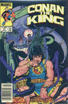 Cover for Conan the King (Marvel, 1984 series) #21 [Canadian Newsstand Edition]