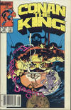 Cover Thumbnail for Conan the King (1984 series) #22 [Canadian Newsstand Edition]