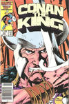 Cover Thumbnail for Conan the King (1984 series) #34 [Newsstand Edition]