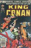 Cover for King Conan (Marvel, 1980 series) #17 [Canadian Newsstand Edition]