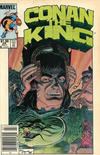 Cover Thumbnail for Conan the King (1984 series) #29 [Canadian Newsstand Edition]