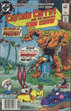 Cover for Captain Carrot and His Amazing Zoo Crew! (DC, 1982 series) #4 [Newsstand]