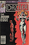 Cover Thumbnail for Dazzler (1981 series) #25 [Canadian Newsstand Edition]