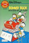 Cover Thumbnail for Donald Pocket (1968 series) #158 - Donald Duck holder seg på topp [1. opplag]