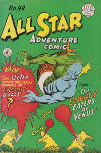 Cover Thumbnail for All Star Adventure Comic (K. G. Murray, 1959 series) #40