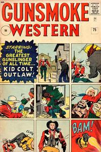 Cover Thumbnail for Gunsmoke Western (Marvel, 1955 series) #75 [British]