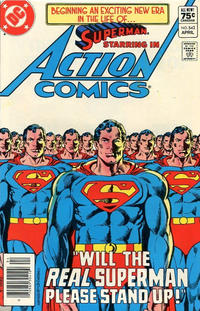 Cover Thumbnail for Action Comics (DC, 1938 series) #542 [Canadian]