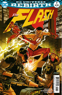 Cover Thumbnail for The Flash (DC, 2016 series) #7 [Dave Johnson Variant Cover]