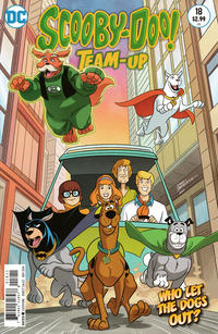 Cover Thumbnail for Scooby-Doo Team-Up (DC, 2014 series) #18 [Direct Sales]