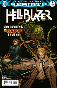 Cover Thumbnail for Hellblazer (DC, 2016 series) #2