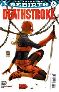Cover Thumbnail for Deathstroke (DC, 2016 series) #3 [Shane Davis Cover]