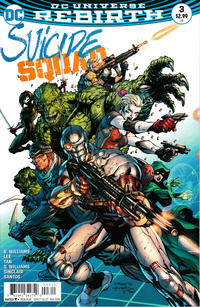 Cover Thumbnail for Suicide Squad (DC, 2016 series) #3 [Jim Lee / Scott Williams Cover]