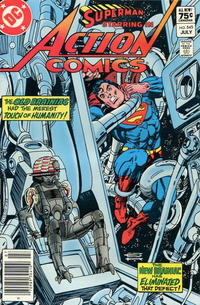 Cover Thumbnail for Action Comics (DC, 1938 series) #545 [Canadian]