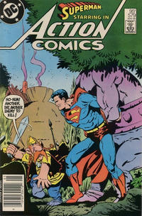 Cover Thumbnail for Action Comics (DC, 1938 series) #579 [Canadian]