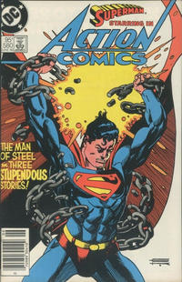 Cover Thumbnail for Action Comics (DC, 1938 series) #580 [Canadian]