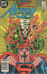 Cover for Action Comics (DC, 1938 series) #582 [Direct Edition]