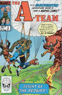Cover Thumbnail for The A-Team (Marvel, 1984 series) #3 [Direct Edition]