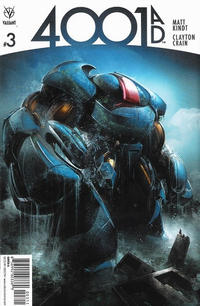 Cover Thumbnail for 4001 A.D. (Valiant Entertainment, 2016 series) #3 [Cover A - Clayton Crain]