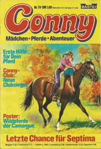 Cover for Conny (Bastei Verlag, 1980 series) #78