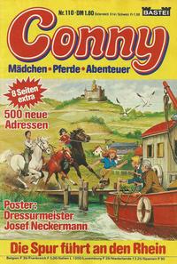 Cover Thumbnail for Conny (Bastei Verlag, 1980 series) #110