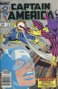 Cover Thumbnail for Captain America (Marvel, 1968 series) #309 [Canadian]