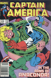 Cover Thumbnail for Captain America (Marvel, 1968 series) #310 [Canadian]