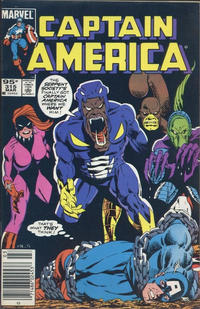 Cover Thumbnail for Captain America (Marvel, 1968 series) #315 [Canadian Newsstand Edition]