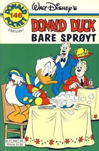 Cover Thumbnail for Donald Pocket (Hjemmet / Egmont, 1968 series) #146 - Bare sprøyt [1. opplag]