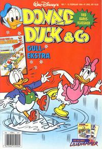 Cover Thumbnail for Donald Duck & Co (Hjemmet / Egmont, 1948 series) #7/1994