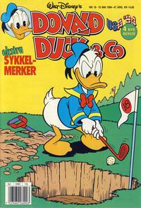 Cover Thumbnail for Donald Duck & Co (Hjemmet / Egmont, 1948 series) #19/1994