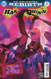 Cover Thumbnail for Harley Quinn (DC, 2016 series) #5 [Bill Sienkiewicz Cover Variant]