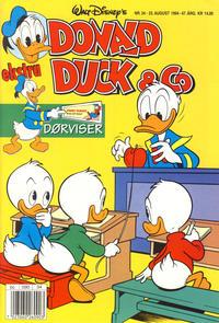 Cover Thumbnail for Donald Duck & Co (Hjemmet / Egmont, 1948 series) #34/1994