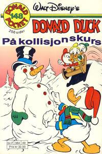 Cover Thumbnail for Donald Pocket (Hjemmet / Egmont, 1968 series) #148 - Donald Duck på kollisjonskurs [Reutsendelse]