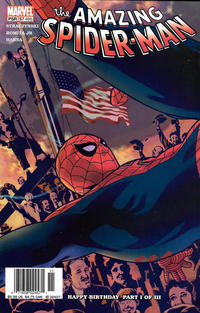 Cover for The Amazing Spider-Man (Marvel, 1999 series) #57 (498) [Direct Edition]