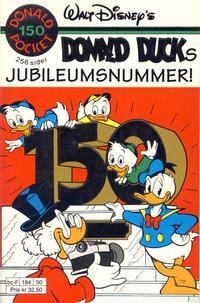 Cover Thumbnail for Donald Pocket (Hjemmet / Egmont, 1968 series) #150 - Donald Ducks jubileumsnummer! [1. opplag]
