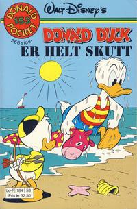 Cover Thumbnail for Donald Pocket (Hjemmet / Egmont, 1968 series) #153 - Donald Duck er helt skutt [1. opplag]